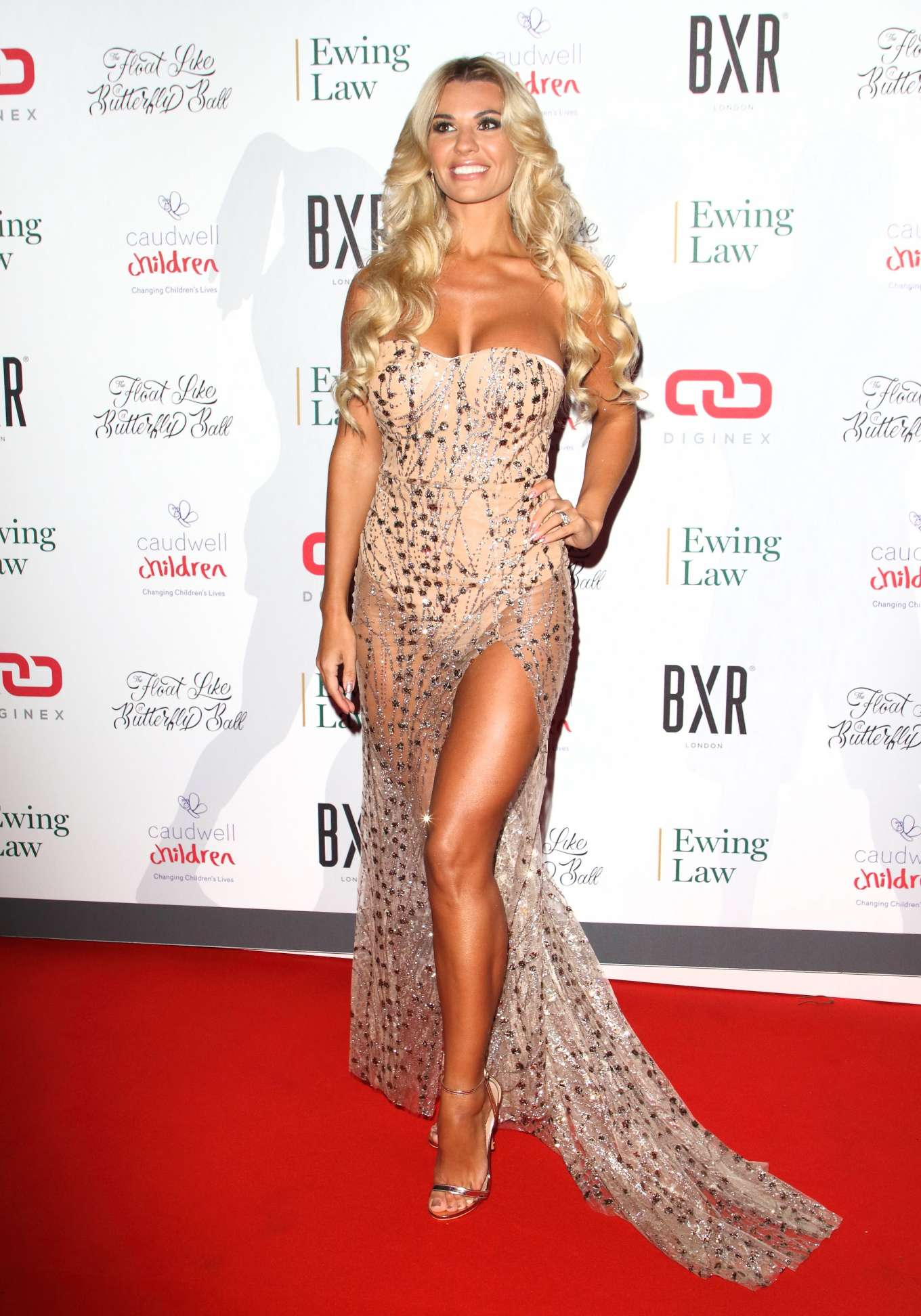 Christine McGuinness - Float Like a Butterfly Ball Gala 2019 in London