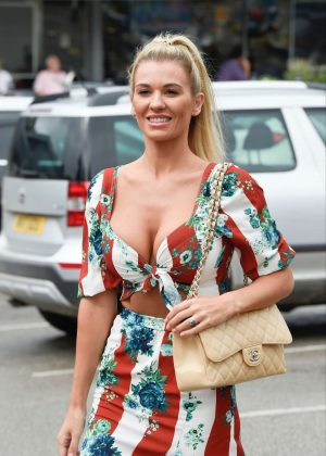 Christine McGuinness - Heads to The Style Lounge in Cheshire