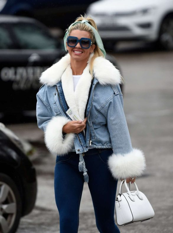 Christine McGuinness - Out and about in Cheshire