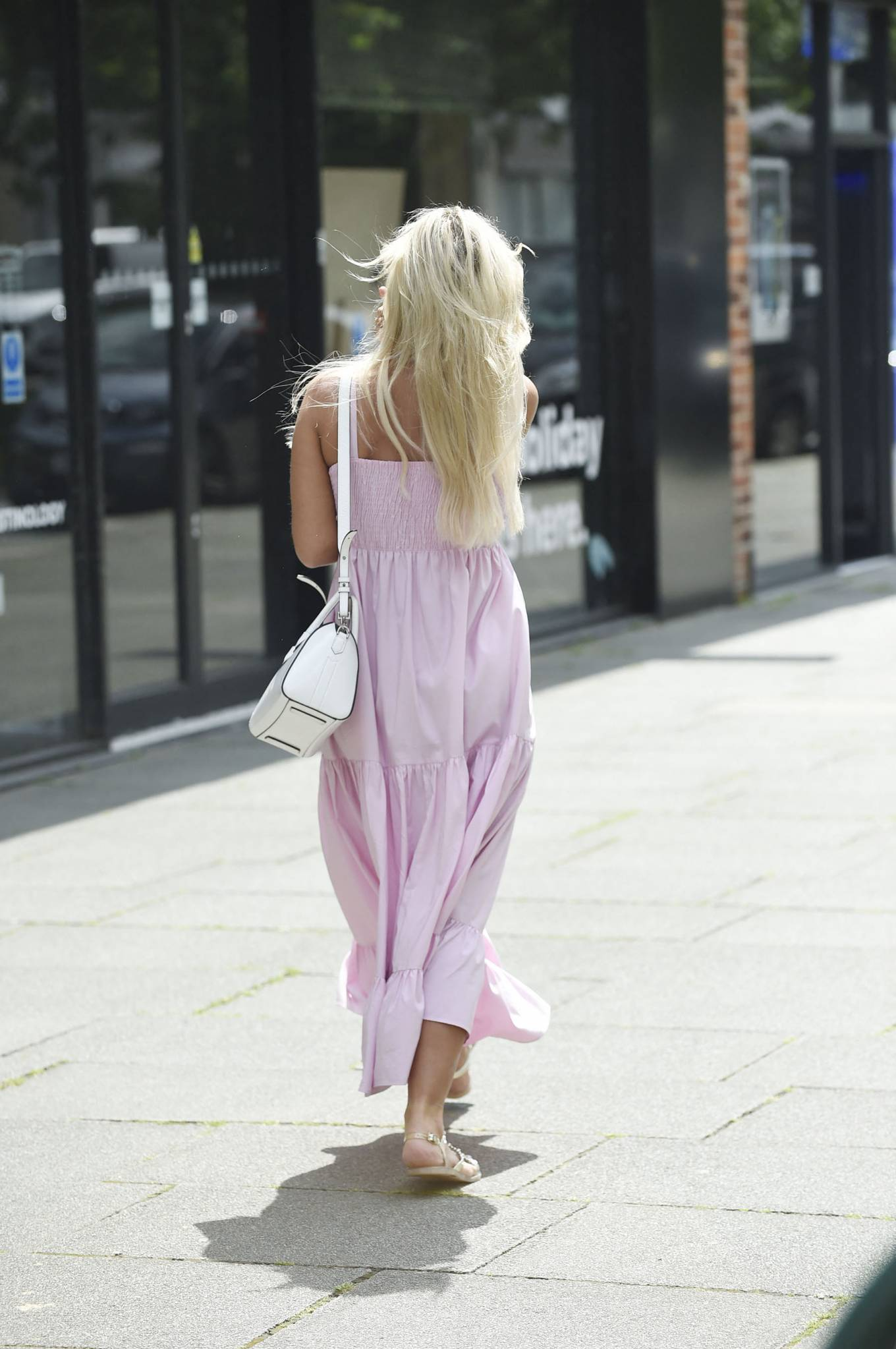Christine McGuinness - Out and about in Wilmslow