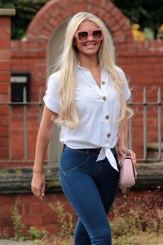 Christine McGuinness - Out in Cheshire