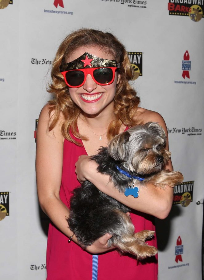 Christy Altomare - 19th Annual Broadway Barks Animal Adoption Event in NY
