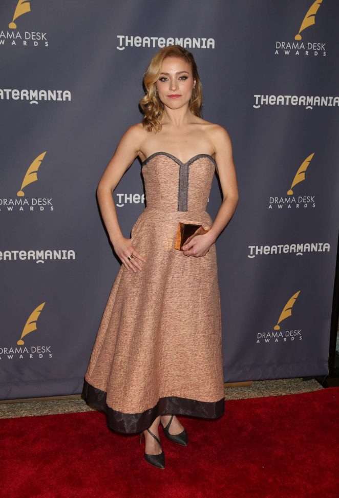 Christy Altomare - 2017 Drama Desk Awards in New York