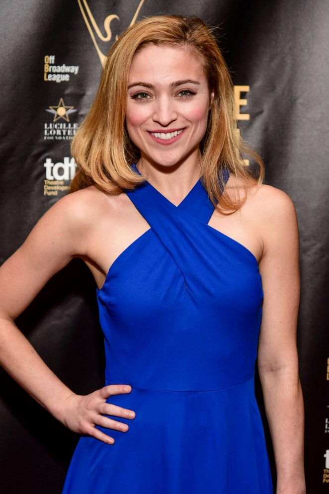 Christy Altomare - 32nd Annual Lucille Lortel Awards in NY