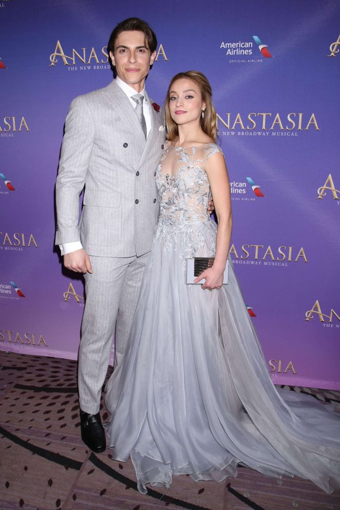 Christy Altomare - 'Anastasia' Play Opening Night in New York