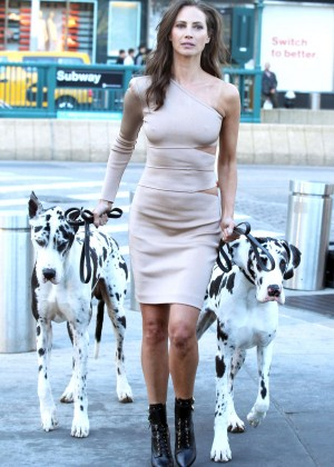 Christy Turlington - Maybelline Photoshoot in New York City
