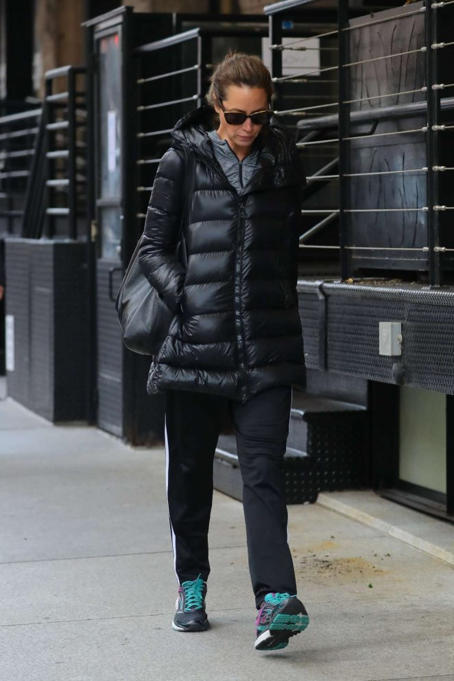 Christy Turlington out and about Tribeca