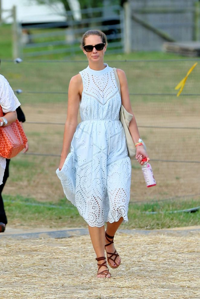 Christy Turlington - Ovarian Cancer Super Saturday Project in New York