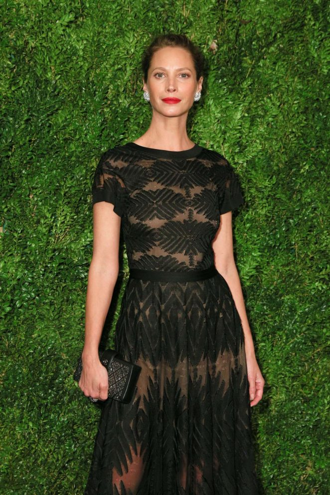 Christy Turlington - The Museum of Modern Art Film Benefit in NY