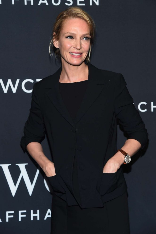 ChUma Thurman - IWC Schaffhausen 5th Annual For the Love of Cinema Gala in NY