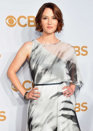 Chyler Leigh - 2015 CBS Upfront in NY