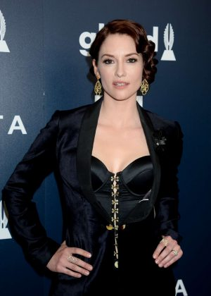 Chyler Leigh - 2017 GLAAD Media Awards in Los Angeles