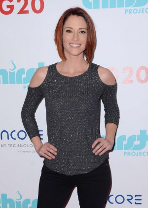 Chyler Leigh - Thirst Project World Water Day Press Conference in Beverly Hills