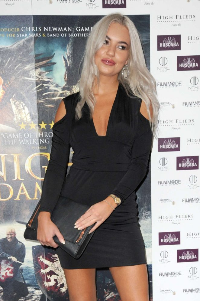 Chyna Ellis - 'Knights of the Damned' Premiere in London