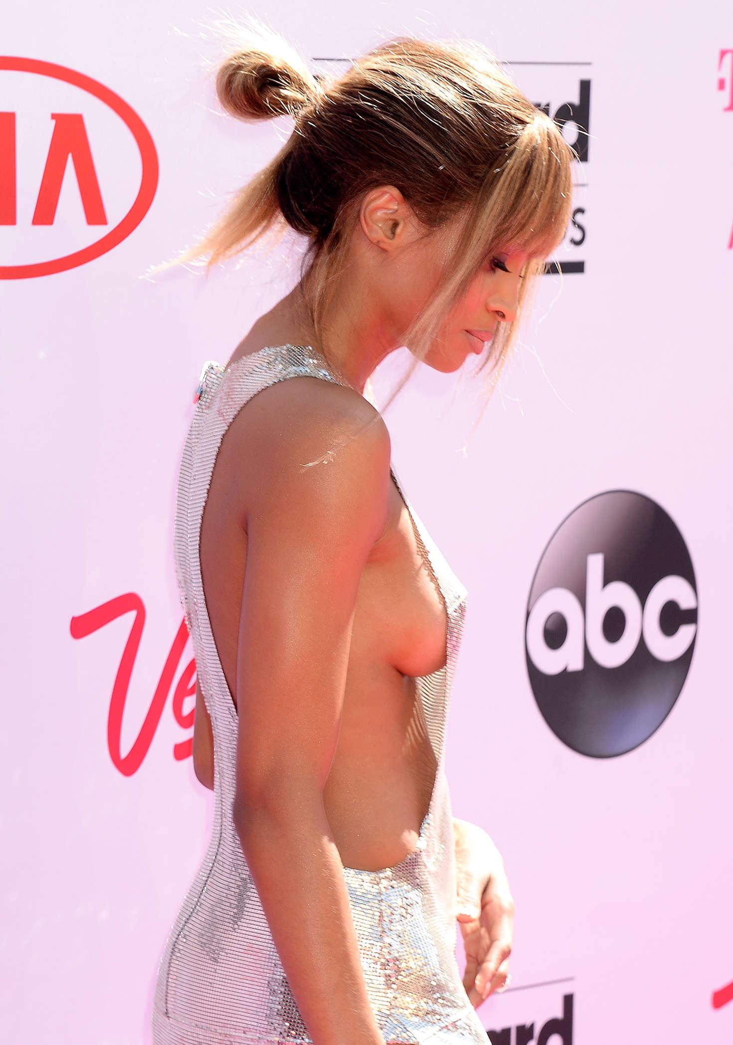 Ciara braless photos