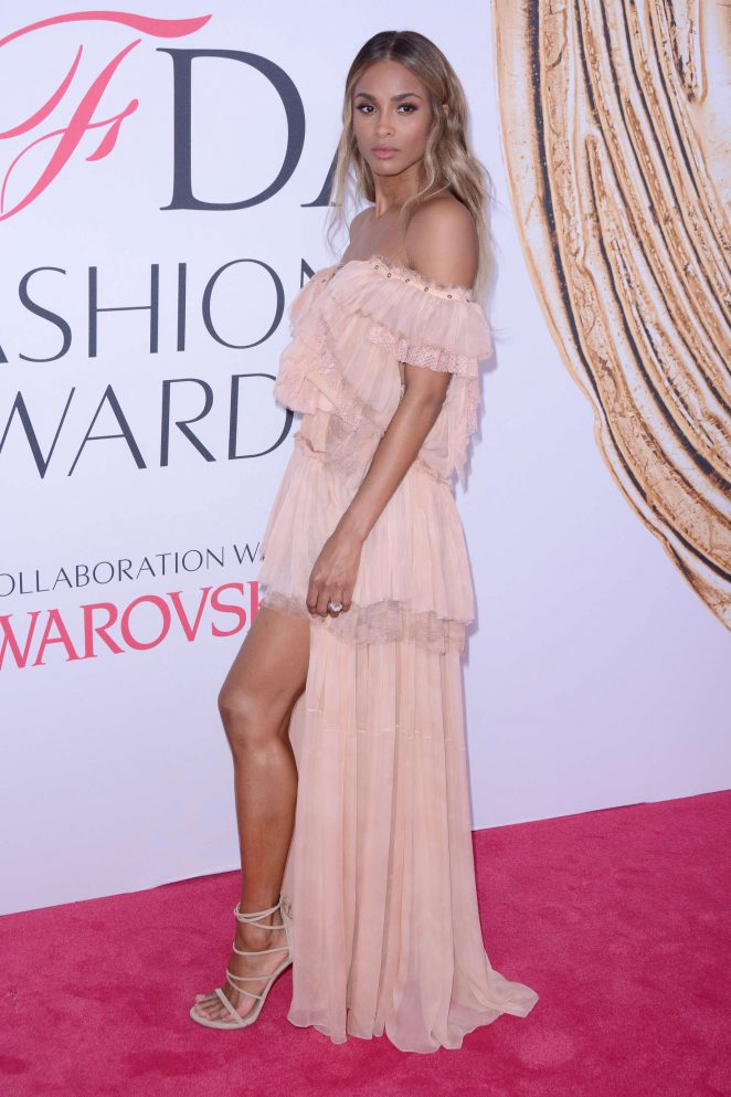 Ciara - 2016 CFDA Fashion Awards in New York