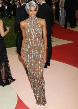 Ciara - 2016 Met Gala in NYC