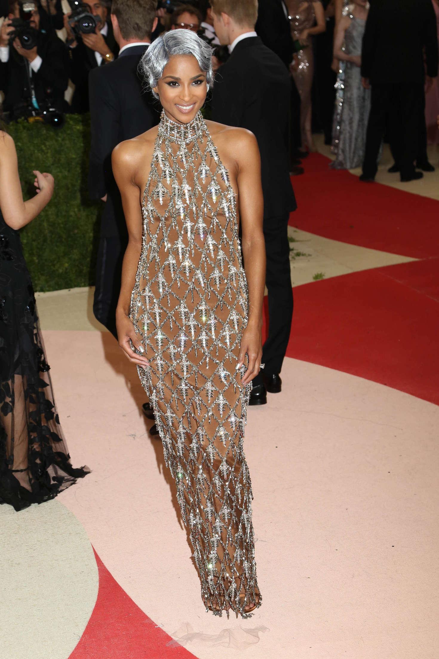Ciara 2016 Met Gala In Nyc Gotceleb