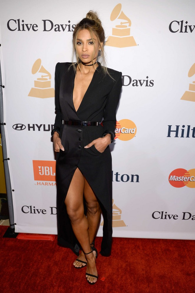 Ciara - 2016 Pre Grammy Gala and Salute to Industry Icons with Clive Davis in LA