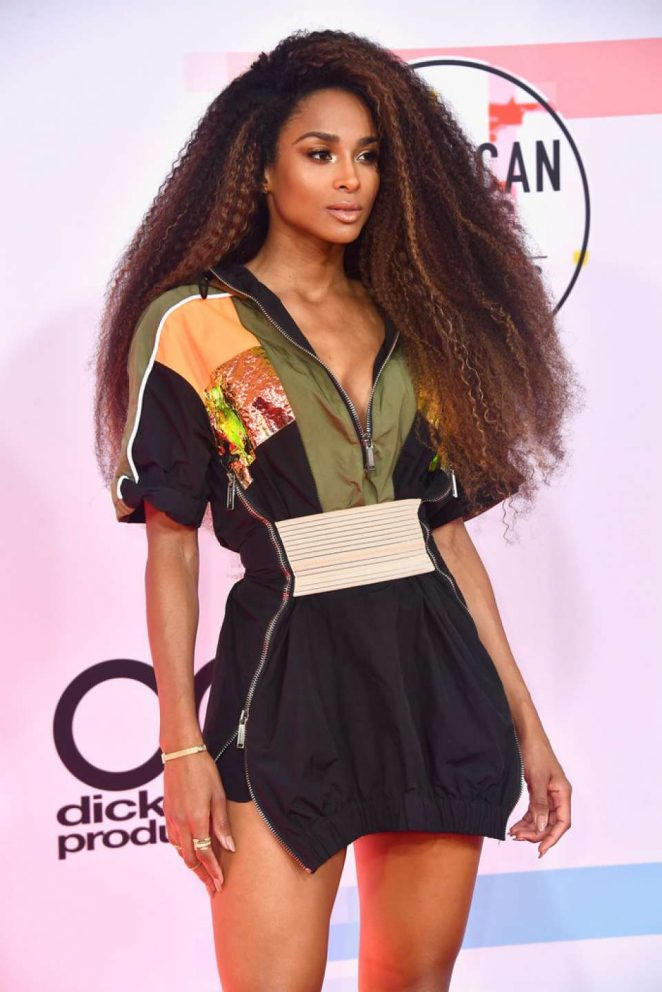 Ciara – 2018 American Music Awards in Los Angeles
