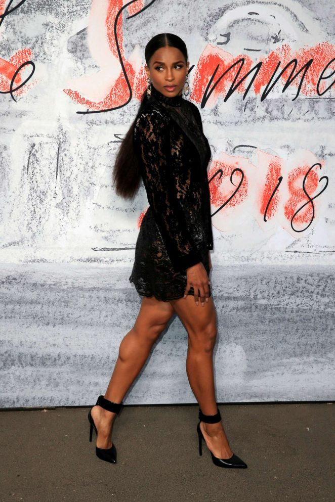 Ciara - 2018 Serpentine Gallery Summer Party in London