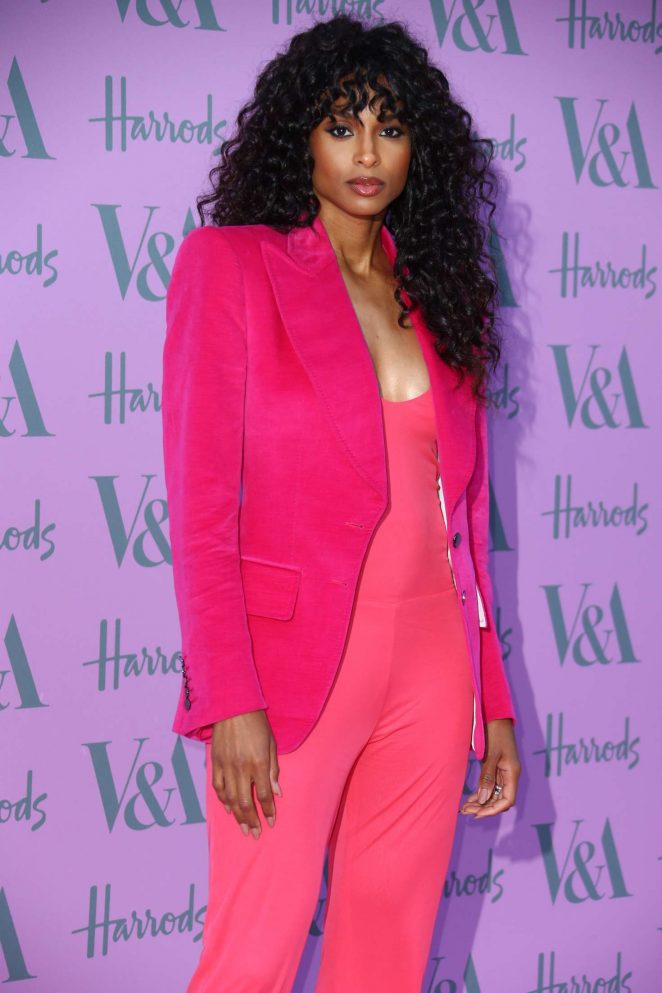 Ciara - 2018 Victoria and Albert Museum Summer Party in London