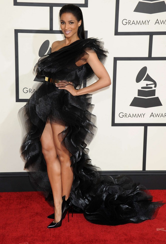 Ciara - GRAMMY Awards 2015 in Los Angeles