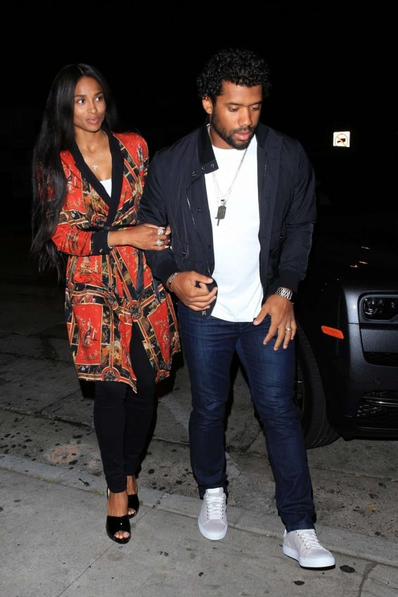 Ciara and Russell Wilson – Celebrate Their Anniversary at Craigs-02