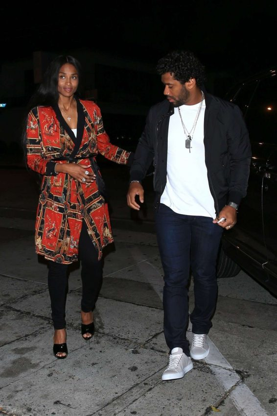 Ciara and Russell Wilson – Celebrate Their Anniversary at Craigs-08