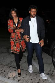 Ciara and Russell Wilson - Celebrate Their Anniversary at Craig's in West Hollywood