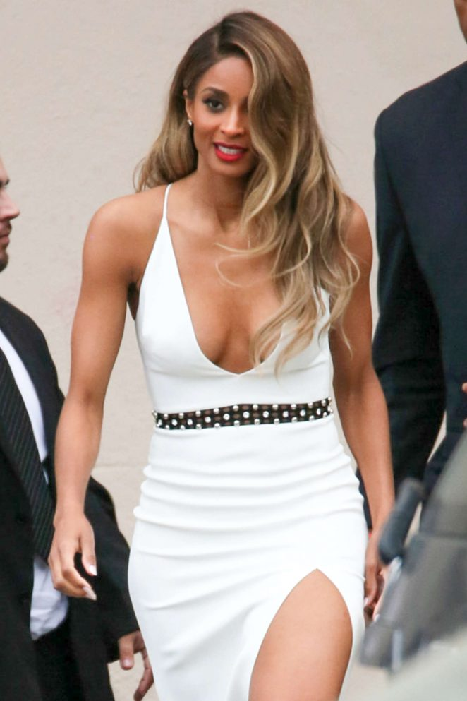 Ciara – Arriving at Jimmy Kimmel Live in Los Angeles