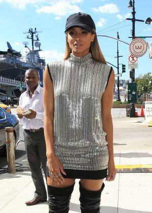 Ciara at 2016 New York Fashion Show in NYC