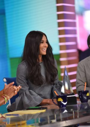 Ciara at 'Good Morning America' in New York City