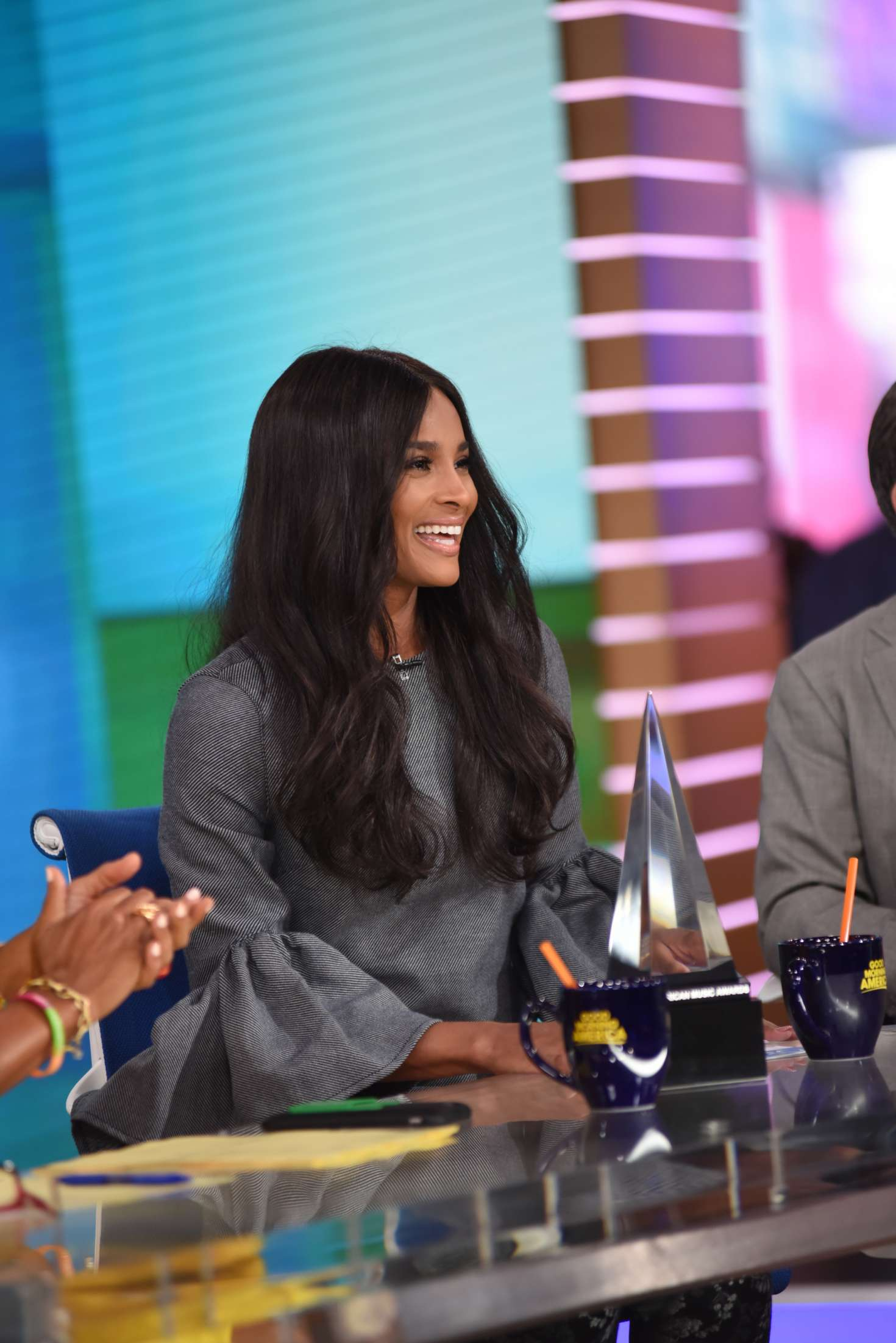 Good Morning America Nyc : Ciara at good morning america in new york city