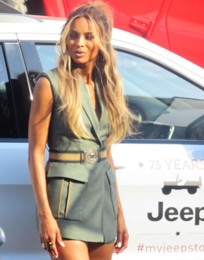 Ciara at Jeep at NYIAS Located at Javits Center in New York City