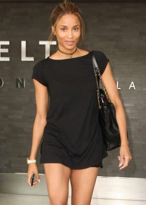 Ciara at LAX Airport in Los Angeles