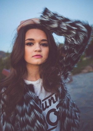 Ciara Bravo - NKD Magazine (April 2015)