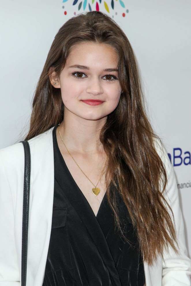 Ciara Bravo - LadyLike Foundation 2015 Women of Excellence Scholarship Luncheon in LA