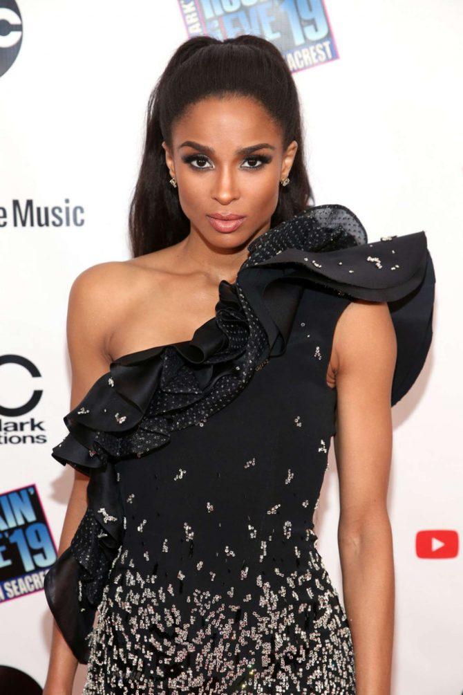 Ciara – Dick Clark's New Year's Rockin' Eve 2019 LA Party