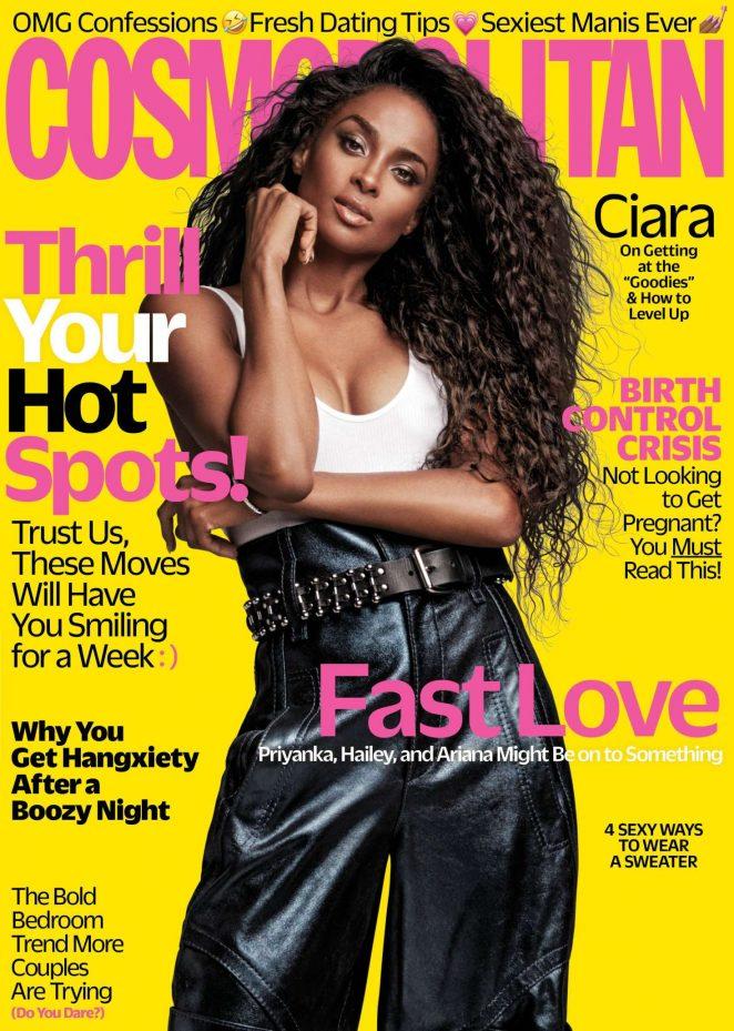 Ciara for Cosmopolitan Magazine (November 2018)