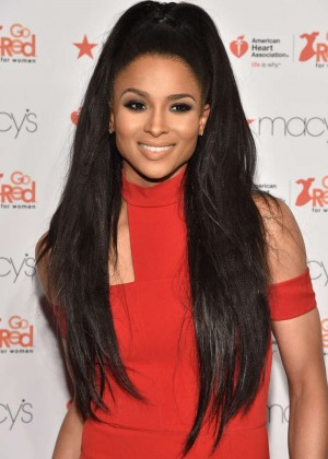 Ciara - Go Red For Women Red Dress Collection 2015 in NYC