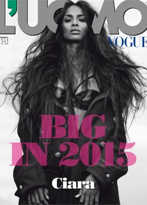 Ciara - L'Uomo Vogue Magazine 2015