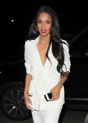 Ciara Night out in West Hollywood