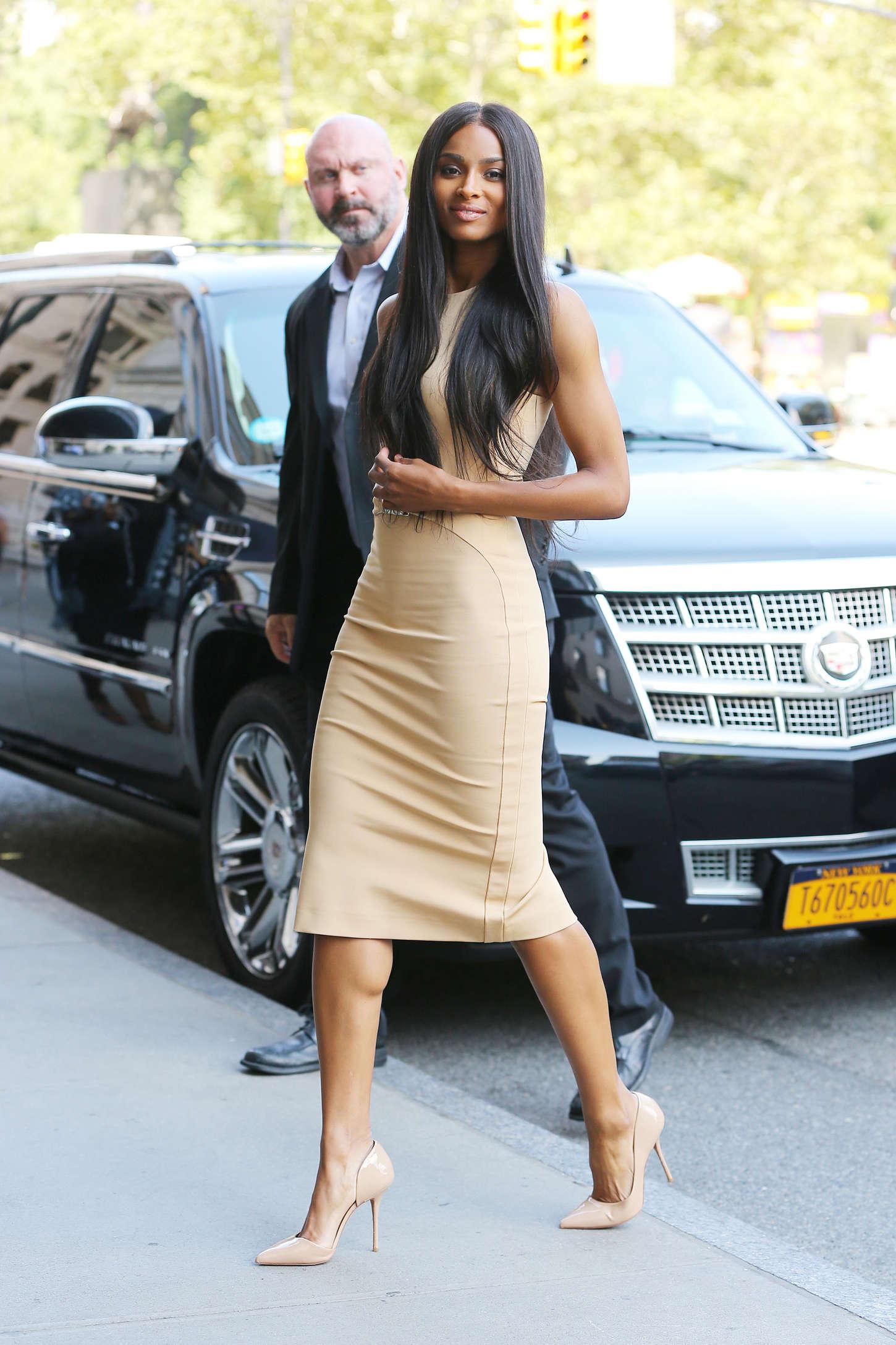 Ciara In Tight Dress 01 Gotceleb