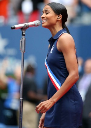 Ciara - Performing at US Open Women's Singles Final Match in NY