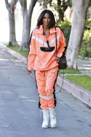 Ciara - Photo shoot candids in Los Angeles