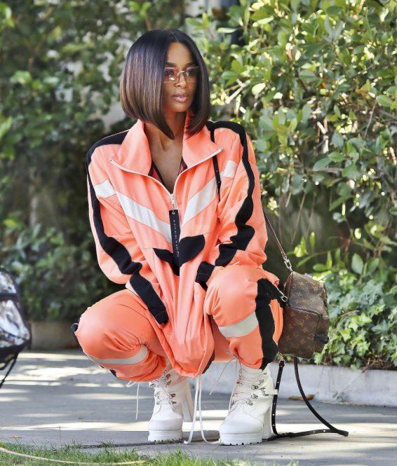 Ciara 2019 : Ciara – Photo shoot candids in Los Angeles-07
