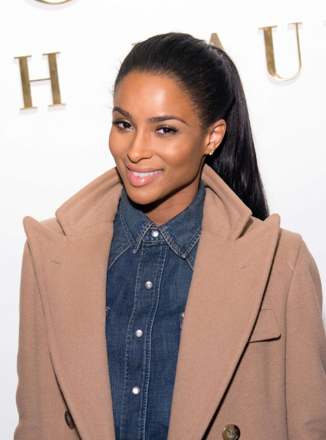 Ciara - Ralph Lauren Polo Men & Women Fashion Show 2015 in NYC