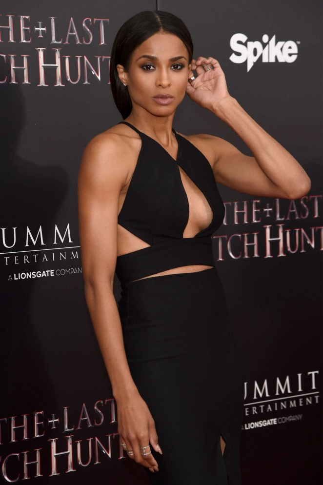 Ciara - 'The Last Witch Hunter' Premiere in NYC
