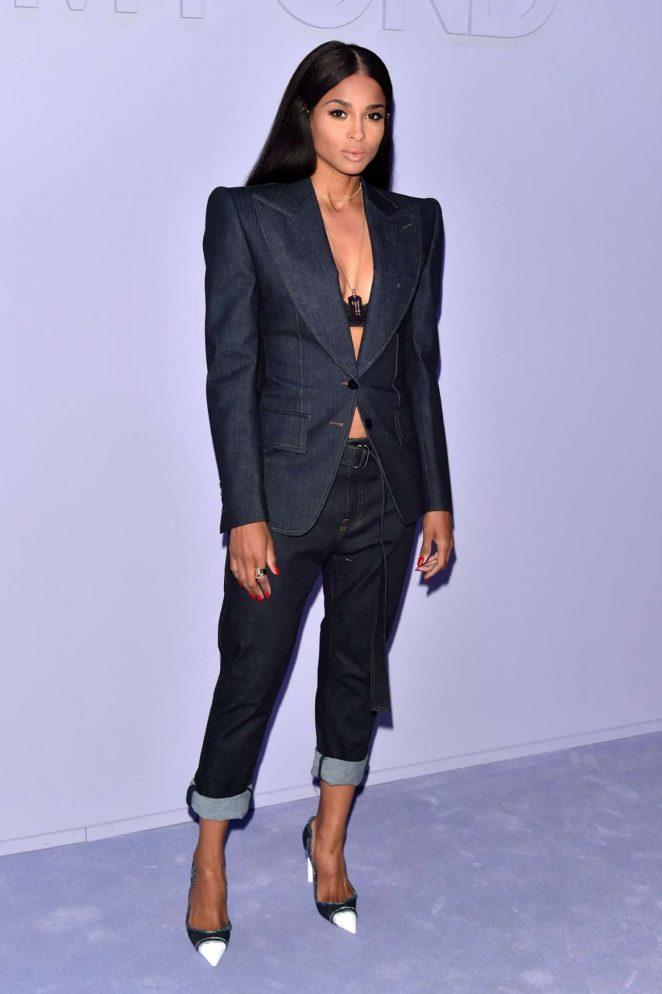 Ciara - Tom Ford Fashion Show 2018 in New York